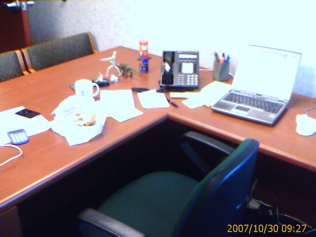 Photo of David Erickson's office